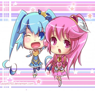 happiness_charge_precure__chibi_by_puyo0702-d6w5rj0