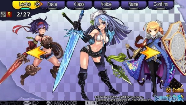 Demon Gaze Females 02