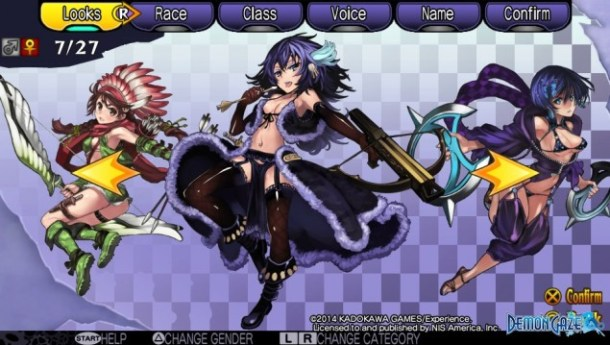 Demon Gaze Females 07