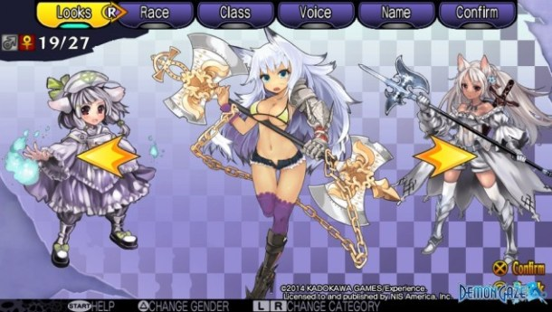Demon Gaze Females 19