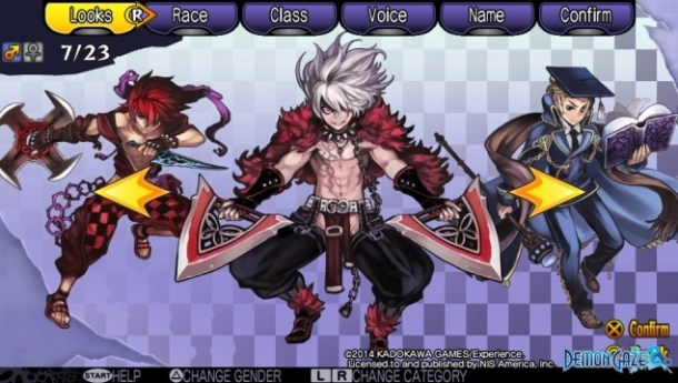 Demon Gaze Males 07