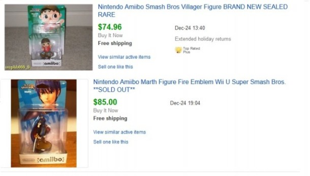 Completed ebay listings.