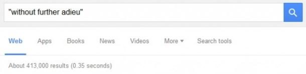 Google results, take notice.