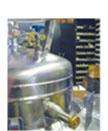 built-in vacuum jacketed withdrawal valve