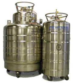 liquid helium dewars sizes