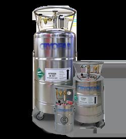liquid nitrogen dewars sizes