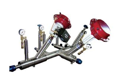 liquid hydrogen manifold valve