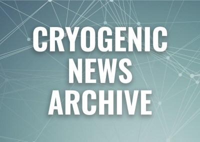 cryogenic news 2015-2020