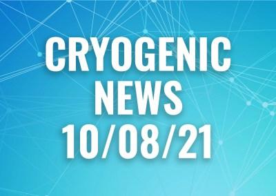 Cryogenic News 10/8/21