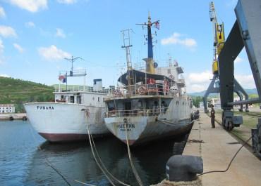 The rather moribund port of Rajin, North Korea, inJuly 2011, before major modernization efforts took place. © laika_ac/Flickr