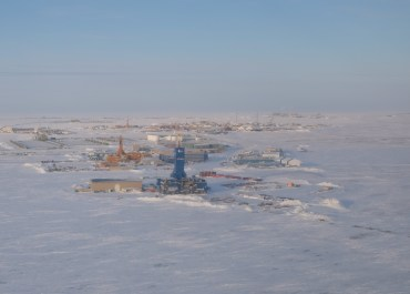 Drilling on Alaska's North Slope in Deadhorse.