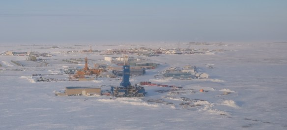 Drilling on Alaska's North Slope in Deadhorse.