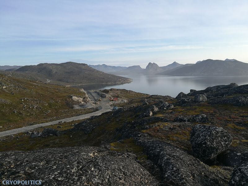 Qaqortoq has built a 6.2 kilometer road to the site of a new airport before it has even been constructed.