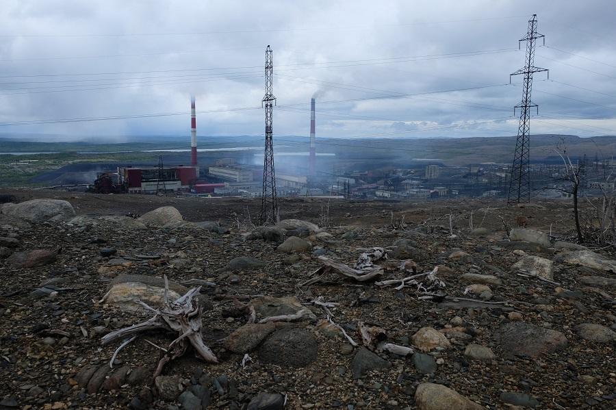 Nikel mine, Russia
