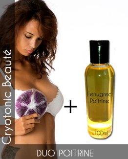 Duo poitrine Thermoseins et Fenugrec pour grossir naturellement des seins