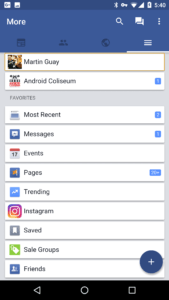 Want to browse Facebook in a better way? I recommend you look at Swipe!