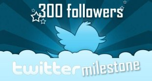 Twitter milestone!