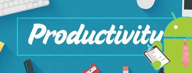 6 Apps to be productive on Android