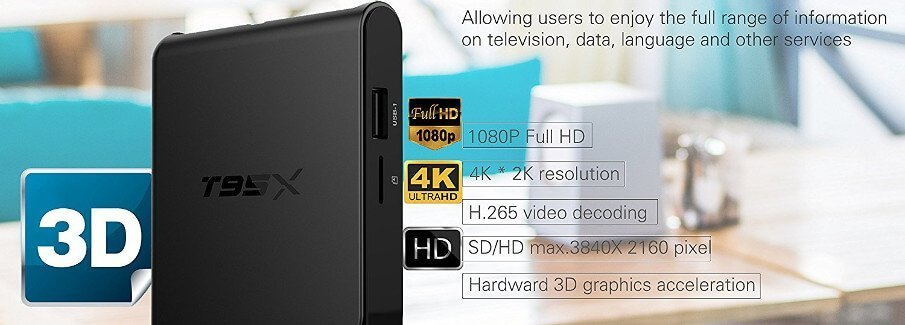 STSTECH T95X Smart TV Box for your entertainment need! 1