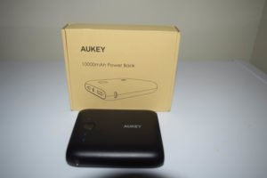 AUKEY Pocket 10000mAh Portable Charger with Dual USB 3.1A