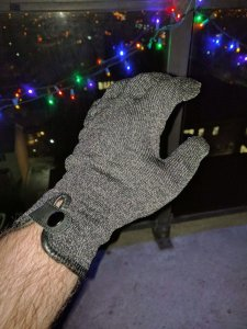 MUJJO Double Layered touch glove