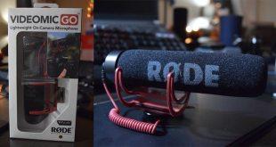 RØDE VideoMic Go Cryovex Martin Guay review