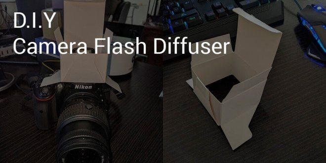 DIY - Camera flash diffuser cryovex pic2