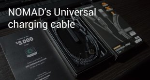 NOMAD universal charging cable header cryovex