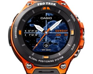 Casio WSD-F20 Smartwatch featuring Android Wear 2.0