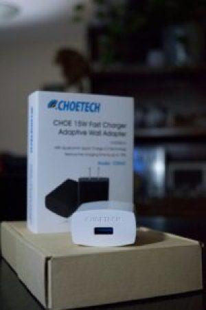 CHOE 15W Quick Charge 2.0 cryovex header