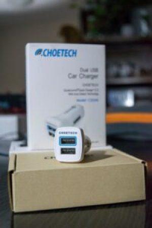 CHOETECH Dual USB Quick Charge 2.0 cryovex C0046 pic 2