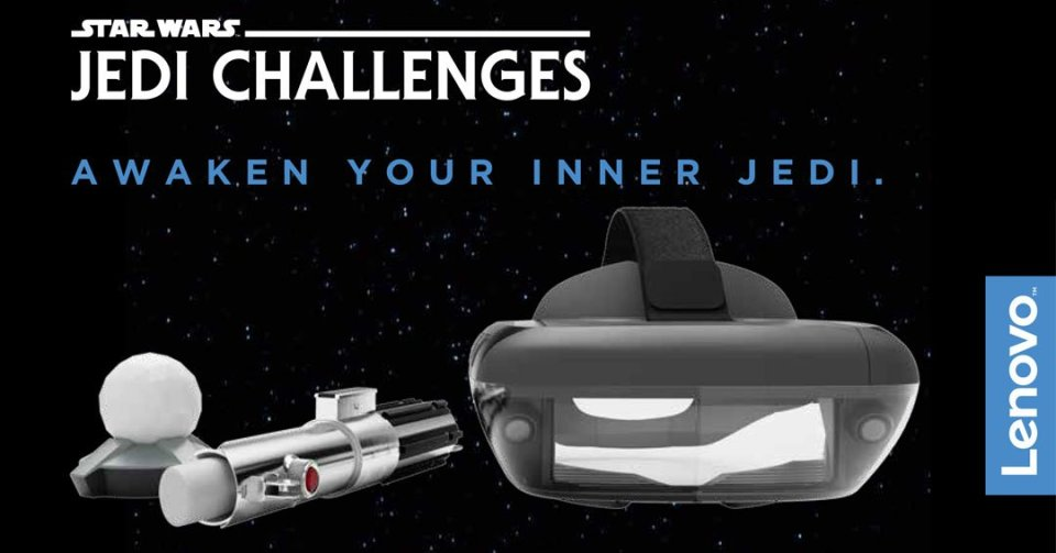 Star WarsTM: Jedi Challenges, A New Smartphone-Powered Augmented Reality  Experience Launching this Holiday 3