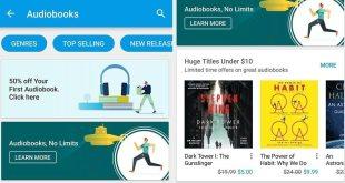 Google Play Books Audiobooks