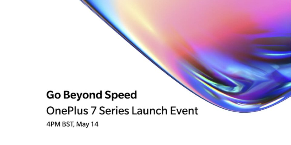 OnePlus 7 launch event may 4th