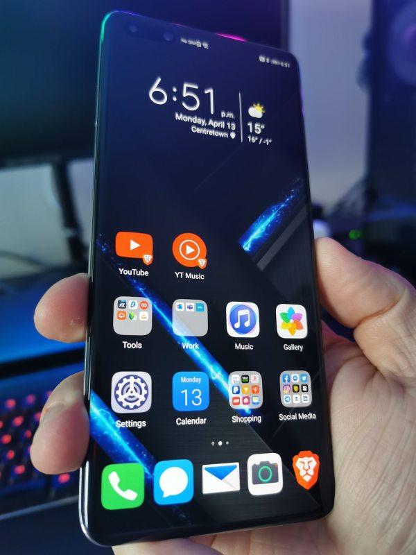 Huawei P40 Pro Apps Screen