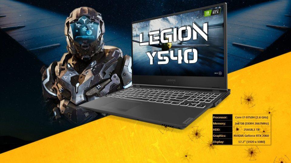 Legion Y540 Gaming Laptop
