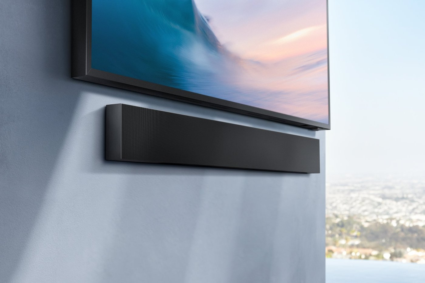 Terrace: Samsung's first outdoor 4K QLED TV