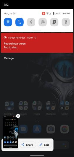 How-to Screen Record Android 11 pic5