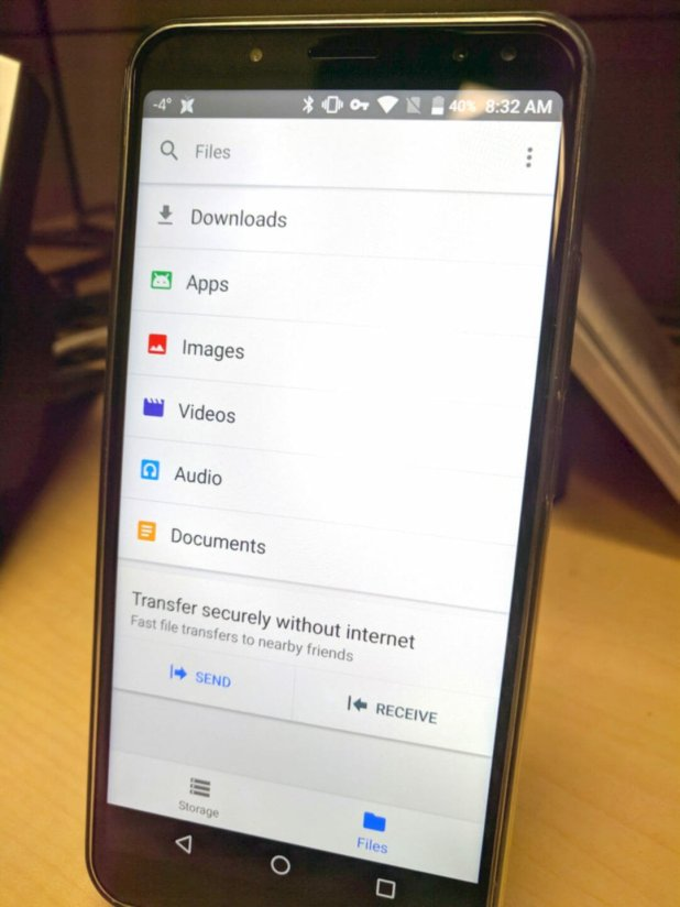 Google Files Go martin android news all bytes review 3