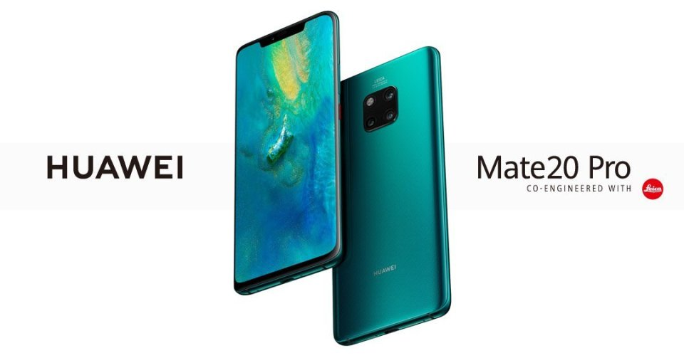 Huawei Mate 20 & Mate 20 Pro released Canada 1