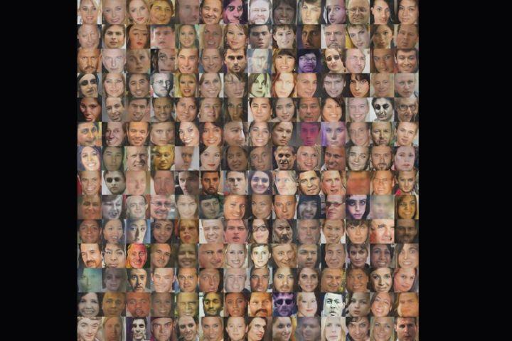 computer faces