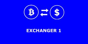تحويل وصرف البيتكوين بين البنوك الإلكترونية على Exchanger1
