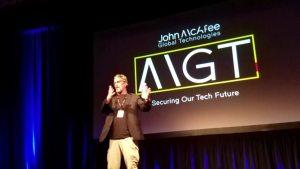 خطاب John McAfee حول العملات الرقمية في ملتقى ميامي 2017