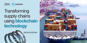 IBM و Maersk تعتمدان سلسة توريد قائمة على البلوكشين