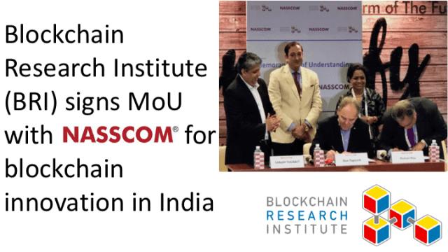 تأسيس شراكة بين هيئة تكنولوجيا المعلومات الرائدة في الهند ومعهدبلوكشينالكندي للاقتصاد الرقمي