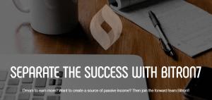 شرح موقع Bitron7.com العالي العائد لتعدين و تداول العملات الرقمية المشفرة