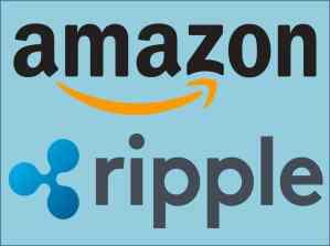 احتمال كبير لدخول عملة Ripple في شراكة مع العملاق Amazon