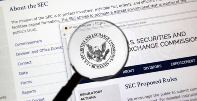 إشارة تقارير لجنة SEC إلی تحقيقاتها في ICOلسنة 2018