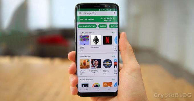 В Google Play обнаружено скам-приложение «Ethereum»