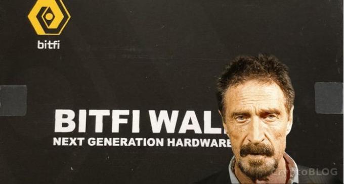Макафи отрицает взлом криптокошелька Bitfi, совершенный энтузиастами